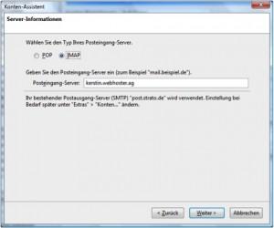Thunderbird IMAP